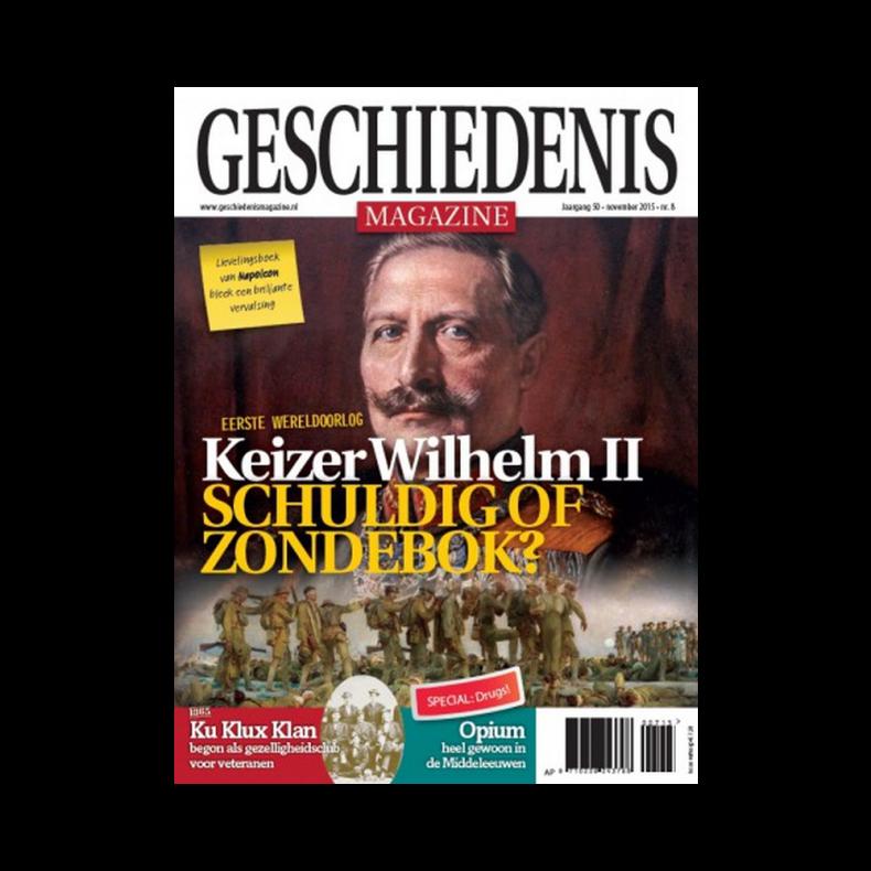 artikelen Jaap Cohen voor Geschiedenis Magazine