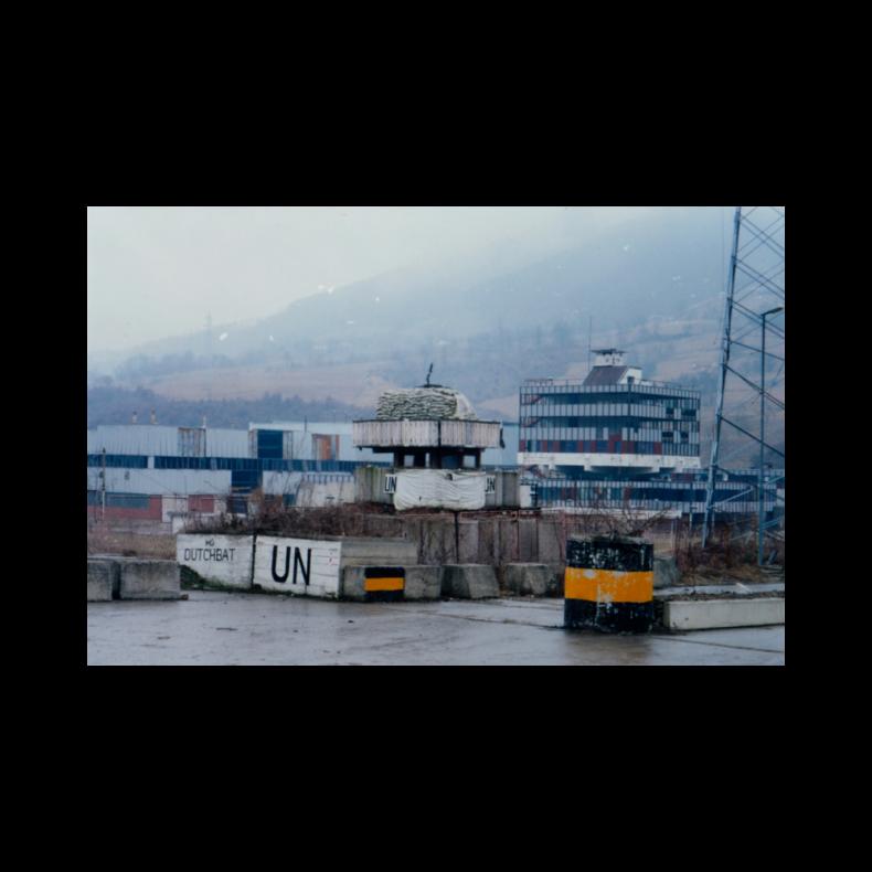 Jaap Cohen onderzoeker NIOD-verkenning naar de val van Srebrenica